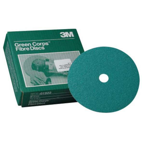 3M™ Abrasive Green Corps™ Fibre Discs