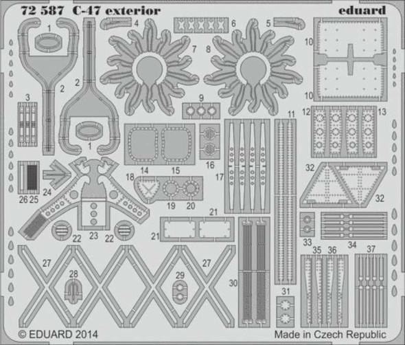 1/72 Aircraft- C47 Exterior for ARX