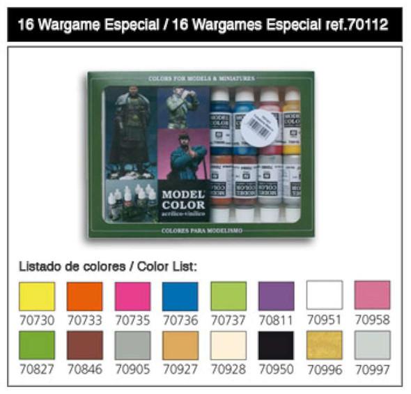 Vallejo 70112 Wargames Special