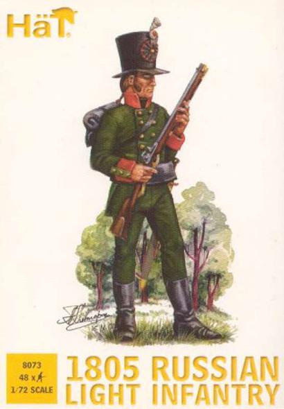 Model Figures - 1805 Russian Light Infantry- 1:72 -HAT Industrie