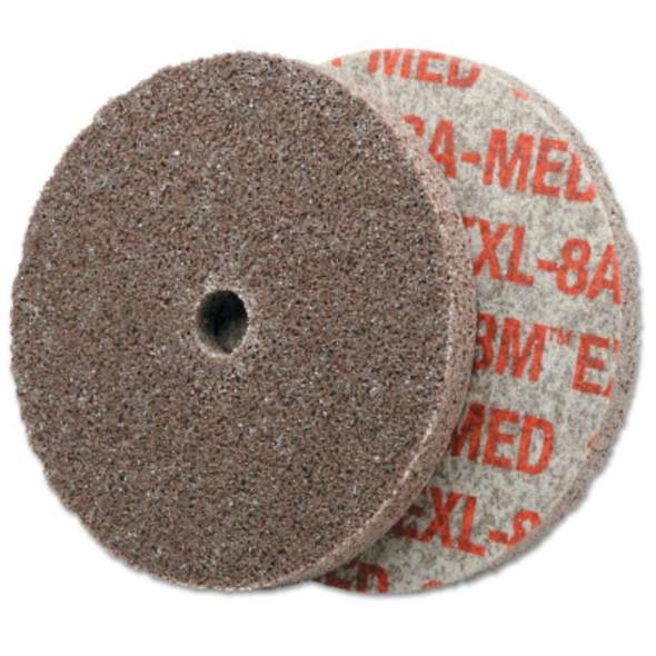 3M™ Abrasive Scotch-Brite™ EXL Unitized Deburring Wheels, pack of 40