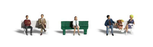 Bus Stop People (HO Scale) A1861