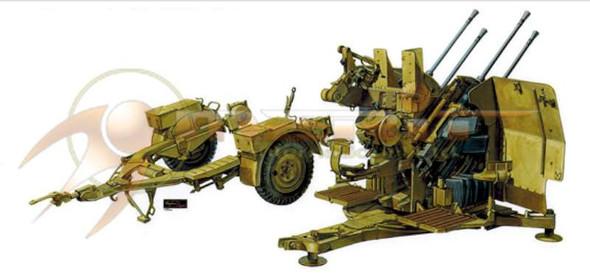 AFV Club German 2cm Flak 38 Anti-Aircraft Gun w/Tow Trailer --
