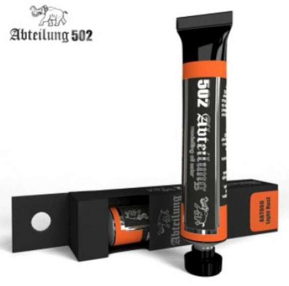 Weathering Oil Paint Light Rust 20ml Tube