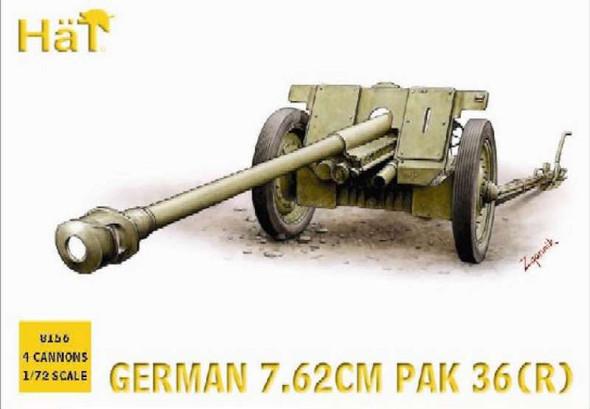 Hat Industrie WW-II Germans Pak36r (1:72)