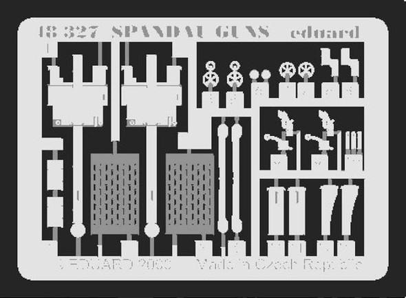 Spandau Machine guns- 1:48 -Eduard