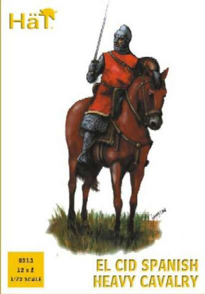 Model Figures - El CID Spanish Heavy Cavalry- 1:72 -HAT Industrie