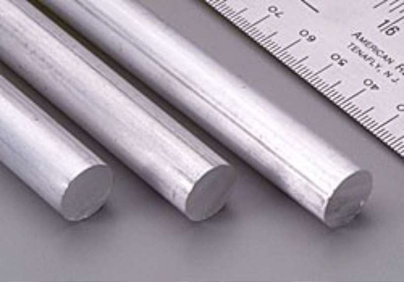 Value Brand 83048 Grainger Approved Aluminum Rods Rod stock,aluminum,1/2 in. Dia.