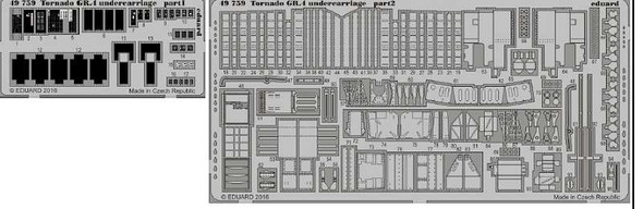 1/48 Aircraft- Tornado GR4 Undercarriage for RVL (Painted)