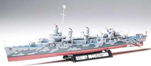 Tamiya - 78012 1/350 US Navy DD445 Fletcher - Plastic Model