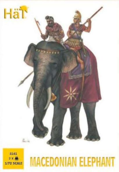 Hat Industrie Hat Macedonian Elephant - 1:72 Plastic Soldier Kit
