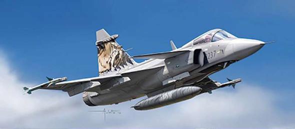 Italeri 1306 Jas 39 Grippen 1:72 Jet Aircraft Kit