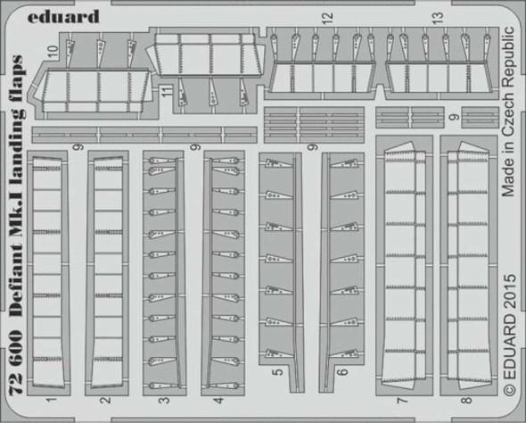 1/72 Aircraft- Defiant Mk I Landing Flaps for ARX