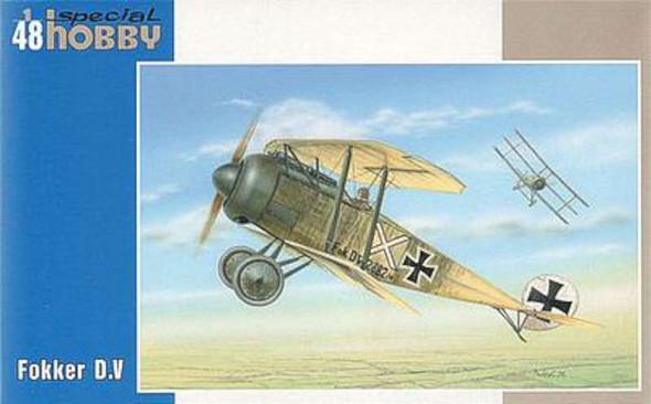 Fokker D V BiPlane -- Plastic Model Airplane Kit -- 1/48 Scale -- #48118