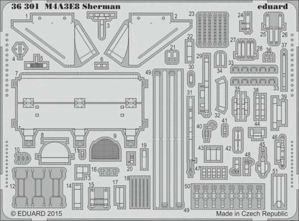 1/35 Armor- M4A3E8 Sherman for TAM