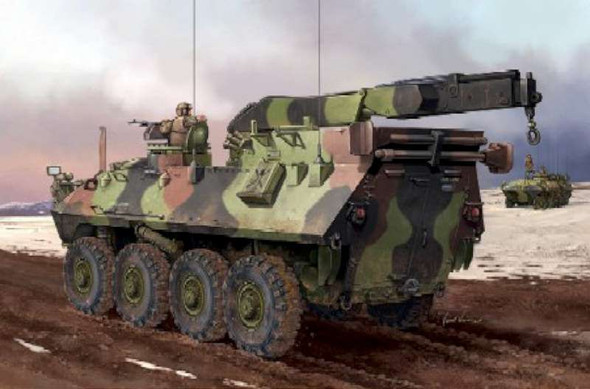 Trumpeter 1/35 Scale USMC LAV-R Light Armored Vehicle Recovery Model Kit