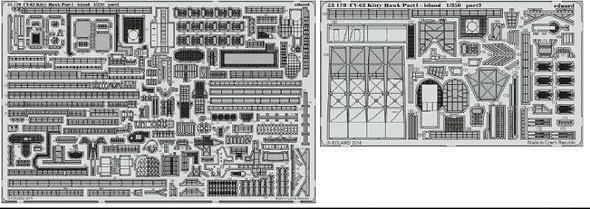 1/350 Ship- USS Kitty Hawk CV63 Island Pt.1 for TSM