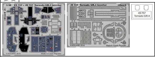 1/48 Aircraft- Tornado GR4 Interior for RVL (Painted)
