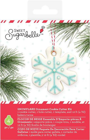 Sweet Sugarbelle Ornament Kit 4/Pkg Snowflake