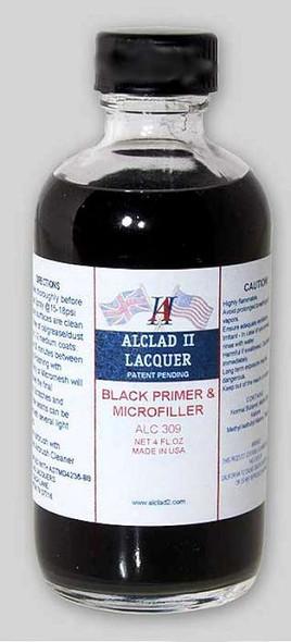Alclad II Lacquers Black Primer & Microfiller 4oz