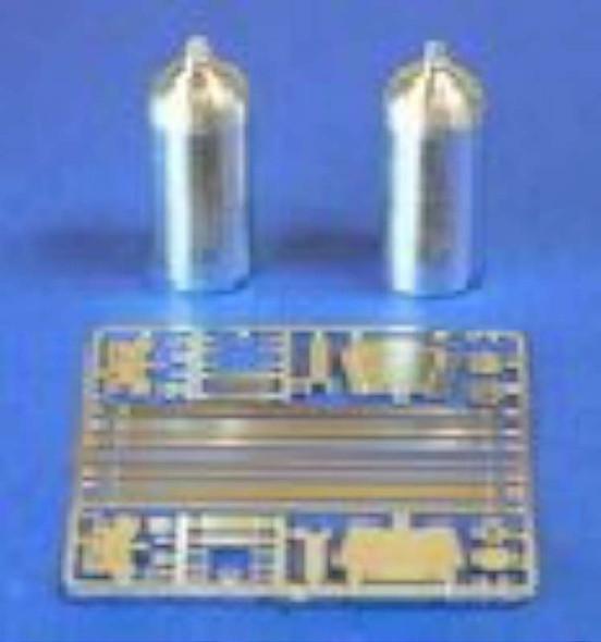 Detail Master Nitrous Bottle Kit (2PC) -- Plastic Model Vehicle