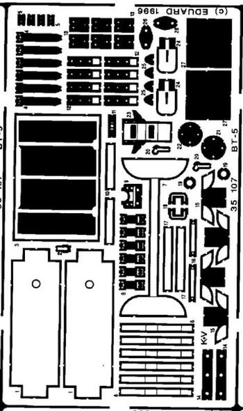 1/35 Armor- BT5 for ITA