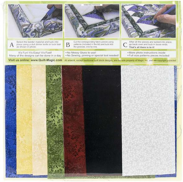 Quilt-Magic No Sew Wall Hanging Kit Lion