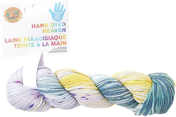 Lion Brand Hand Dyed Heaven Yarn Dayglow