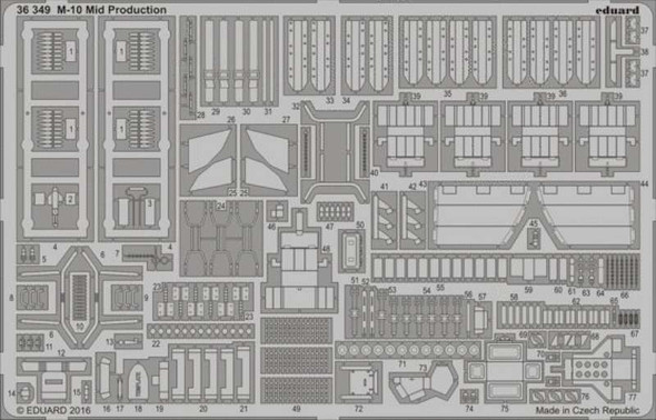 1/35 Armor- M10 Mid Production for TAM
