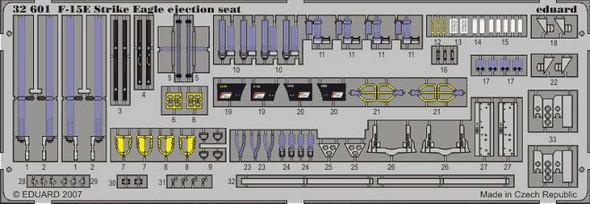 McDonnell Douglas F-15E Strike Eagle Ejection Seat PRE-P