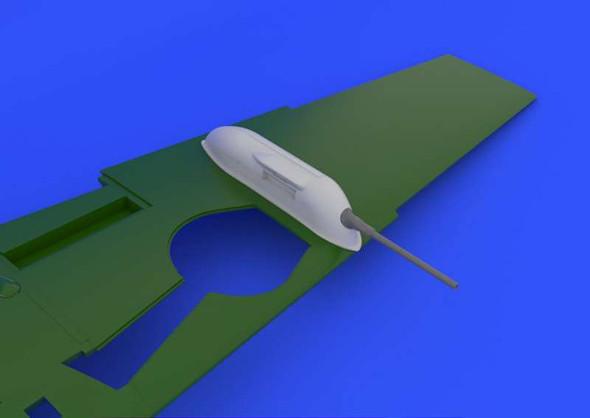 Airplane Model Kit - BF 109 Cannon Pods revell- 1:32 -Eduard