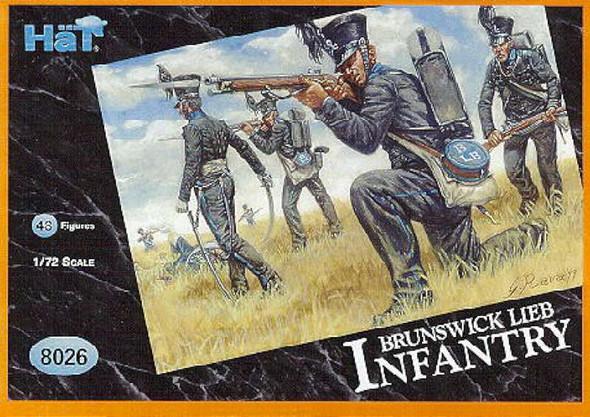 Hat Industrie Napoleonic Brunswick Leib Infantry (48) 1/72 Hat