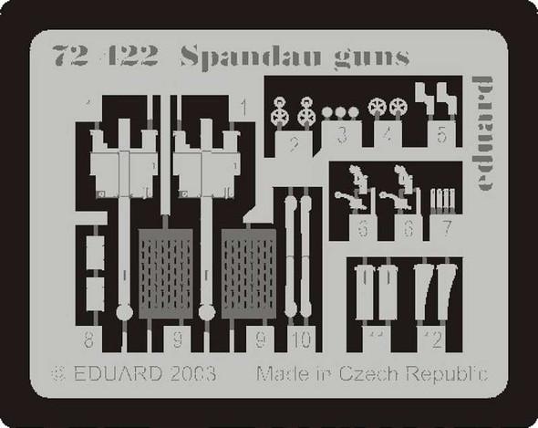 Spandau Machine Gun- 1:72 -Eduard