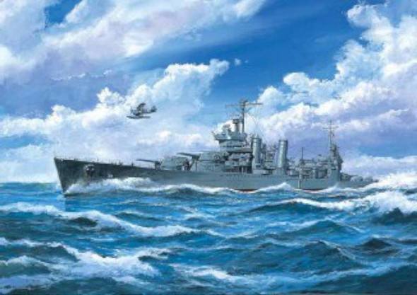 USS San Francisco CA-38, 1/700 by Trumpeter, Model Ship