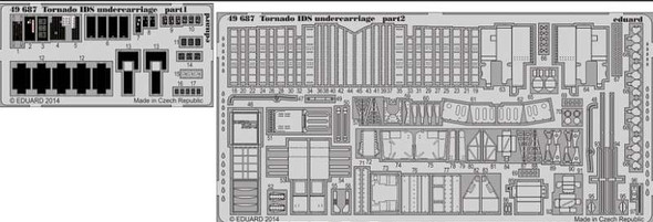 1/48 Aircraft- Tornado IDS Undercarriage for RVL (Painted)