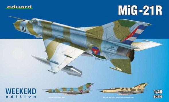 1/48 MiG21R Fighter (Wkd Edition Plastic Kit)