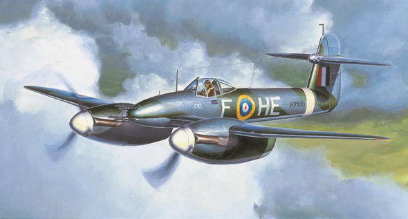 Trumpeter Scale models 1/48 Westland Whirlwind British Fighter 2890