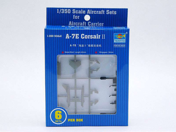 A-7E Corsair II Set, 1/350 by Trumpeter, Model Airplane