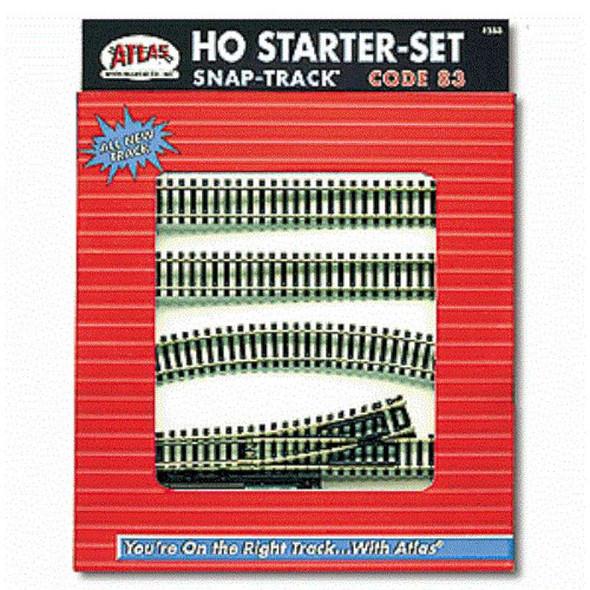 Atlas 588 HO Code 83 Snap Track Starter Set