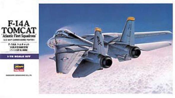 F-14A Tomcat Atlantic F.S., 1/72 by Hasegawa, Model Airplane