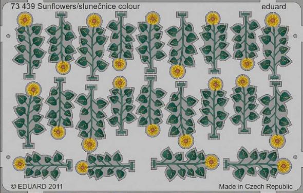 Sunflowers/slunecnice Colour- 1:72 -Eduard