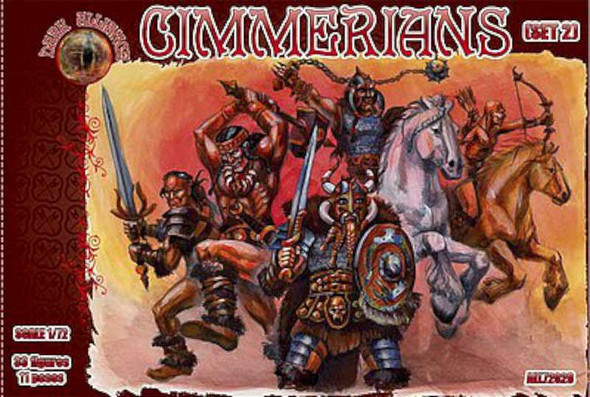 1/72 Cimmerians Set #2 Figures