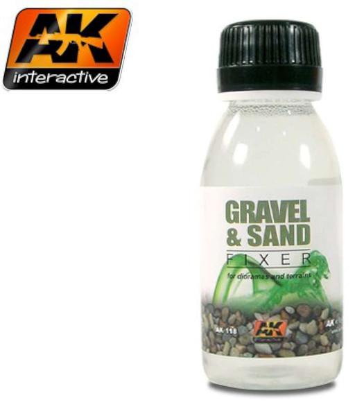 Gravel & Sand Fixer Enamel 100ml Bottle