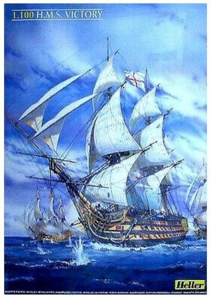 I 100 H.m.s Victory Trafalger 1805 by Heller Model