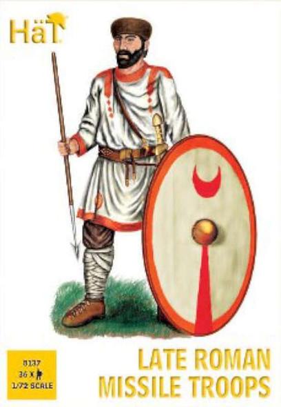 Hat Industries Figures Late Roman Missle Troops -- Plastic Model
