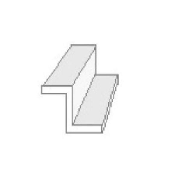 Evergreen Scale Models Z Channel .100 2.5mm (4) 753