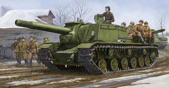 Trumpeter models 1571 1:35 Soviet Su152 Self-Propelled Heavy Howitzer