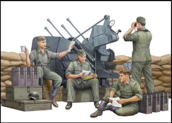 Trumpeter 432 1/35 German Anti-Aircraft Gun Crew TSMS0432