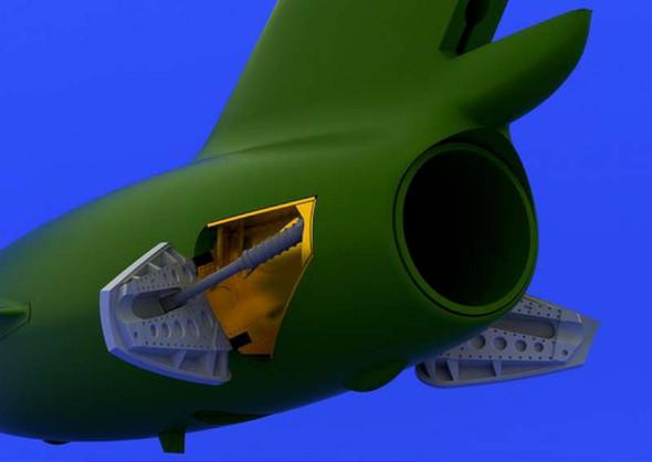 Airplane Model Kit - MIG 15 Airbrakes eduard- 1:72 -Eduard