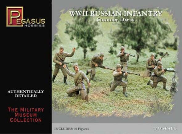 Pegasus Hobbies 7268 WWII Russian Infantry Summer Dress 1/72
